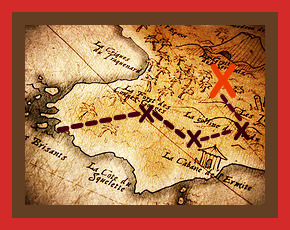 """X"" Marks the Spot! Create a Treasure Map to Achieve ..."
