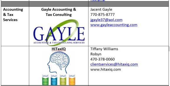 Tax Vendor