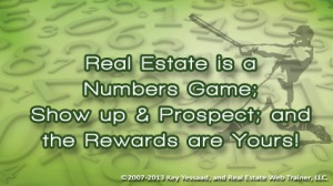 Real Estate is a Numbers Game at Maximum One Realtors