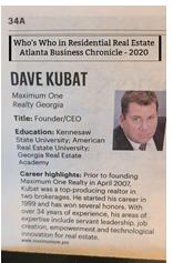 2020.08.09 Dave Kubat Who's Who