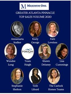 2021.03.21 Greater Atlanta Pinnacle Sales Volume